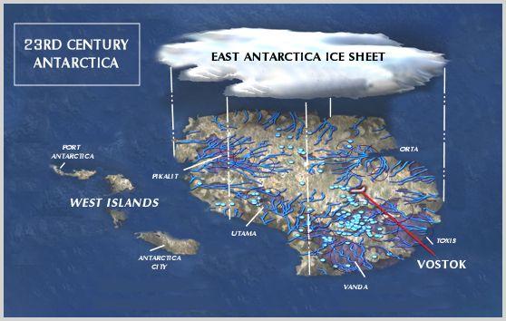 Concept - future south pole